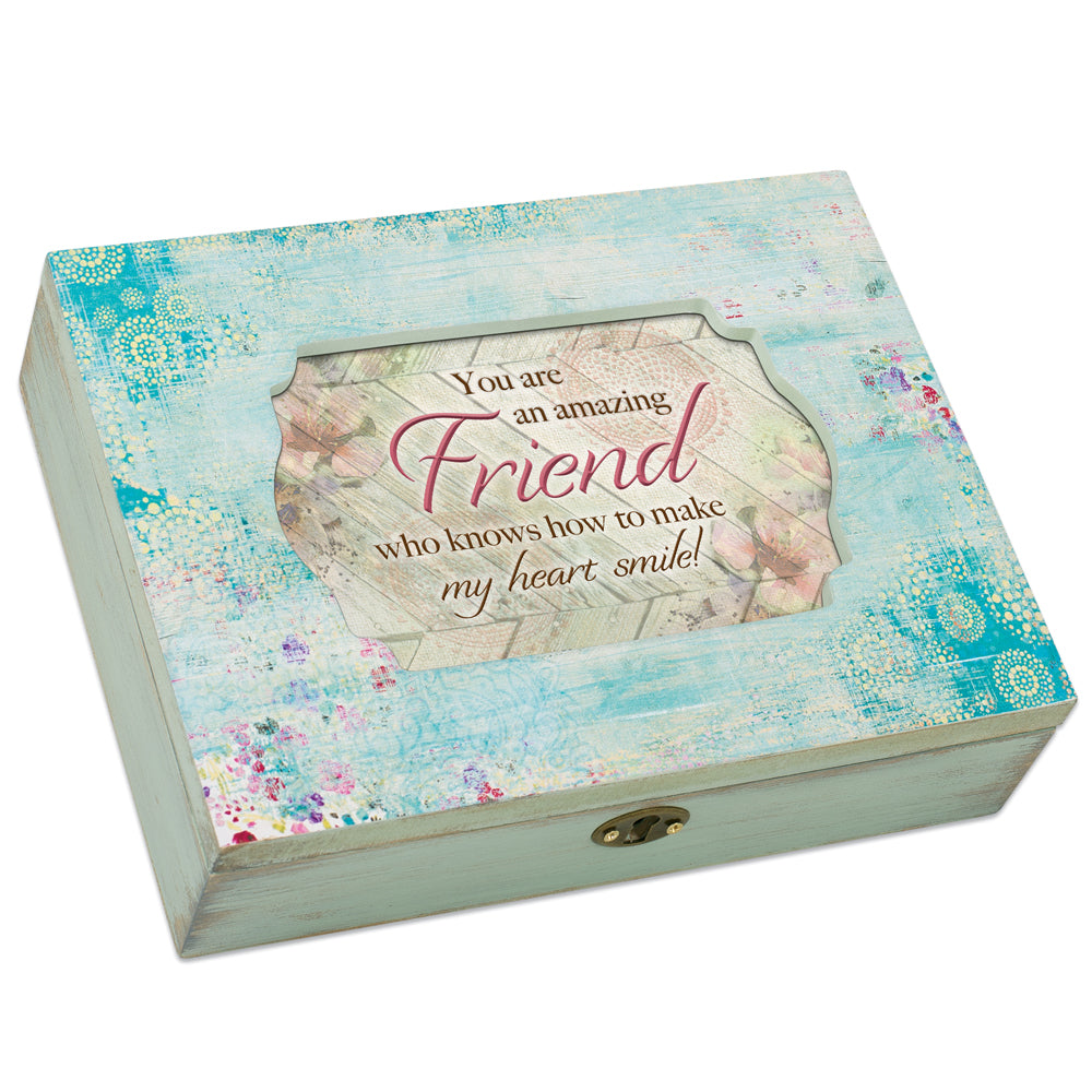 FRIEND MAKE MY HEART SMILE JEWELRY BOX
