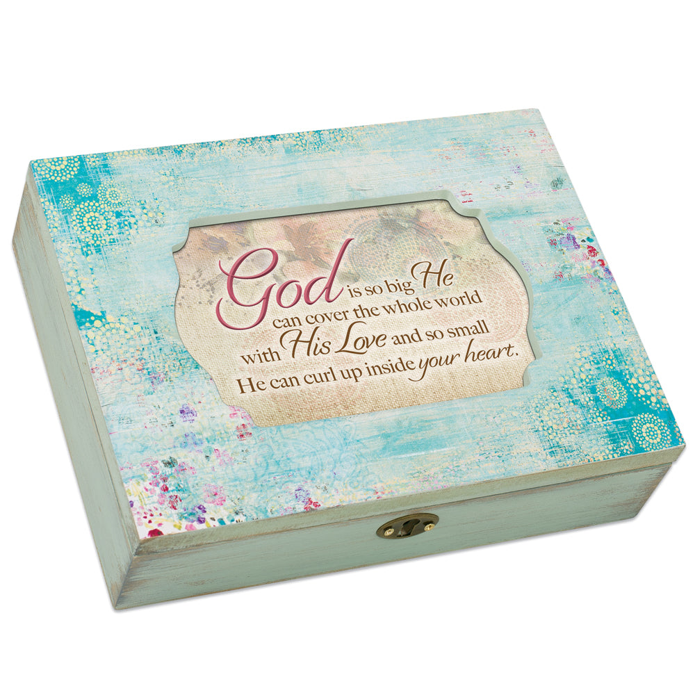 GOD HIS LOVE INSIDE YOUR HEART JEWELRY BOX