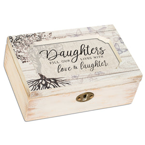 DAUGHTERS FILL LIVES WITH LOVE JEWELRY BOX