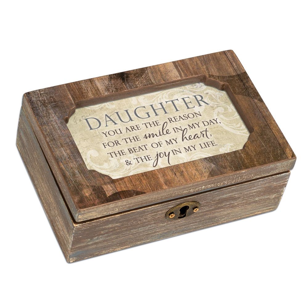 DAUGHTER REASON FOR SMILE JOY JEWELRY BOX