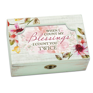 COUNT BLESSINGS JEWELRY BOX