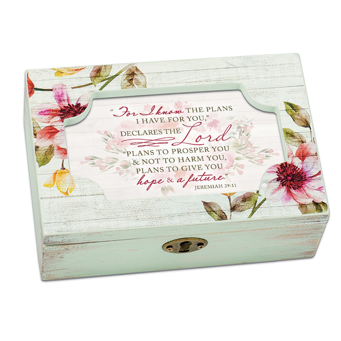 FOR I KNOW THE PLANS FOR YOU JEWELRY BOX