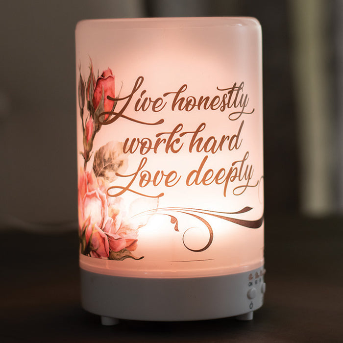 LIVE HONESTLY/ WORK HARD/LOVE DEEPLY DIFFUSER