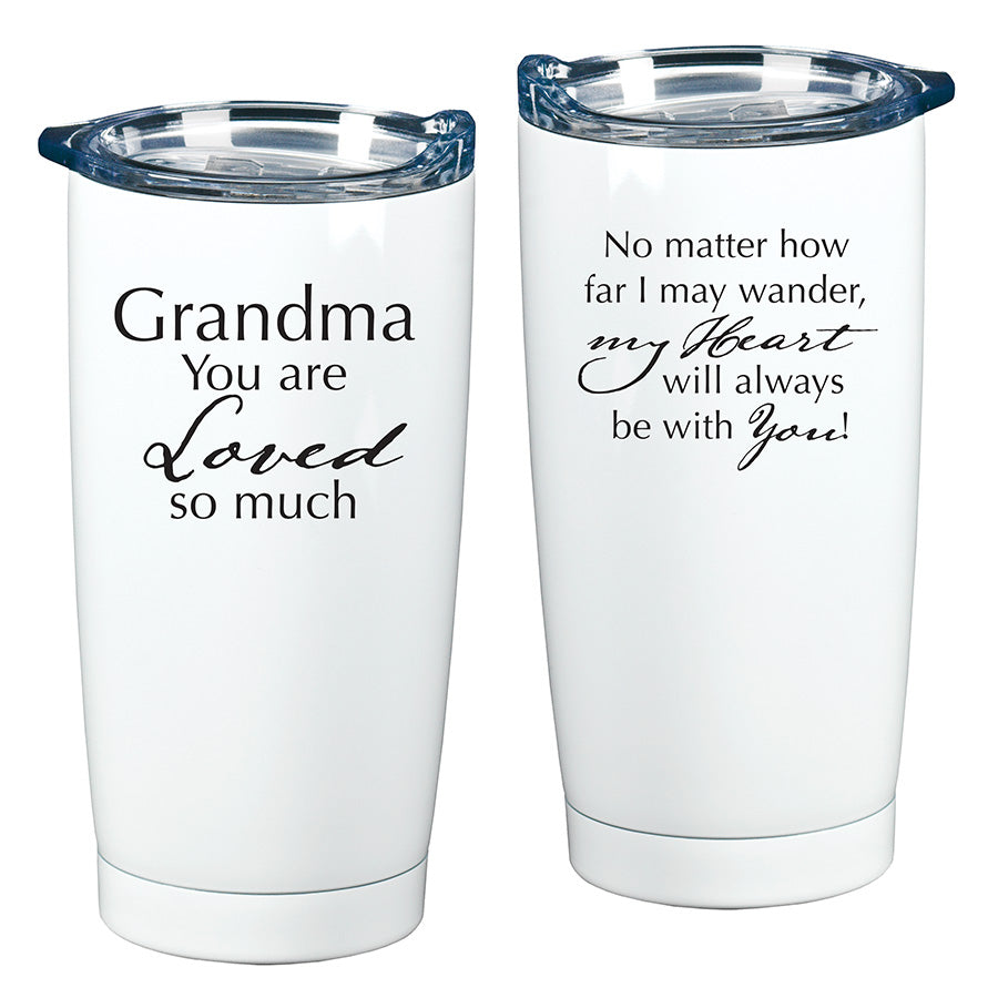 GRANDMA YOU ARE LOVED VERY MUCH TUMBLER