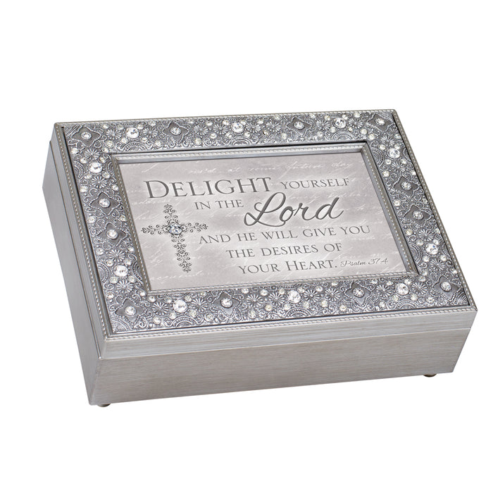 DELIGHT YOURSELF IN THE LORD JEWELRY BOX