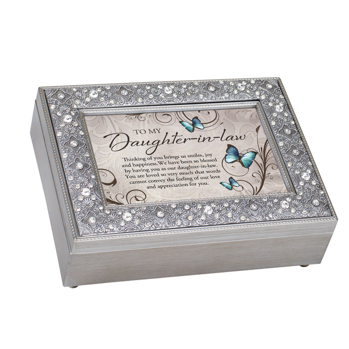 DAUGHTER IN LAW YOU ARE LOVED JEWELRY BOX