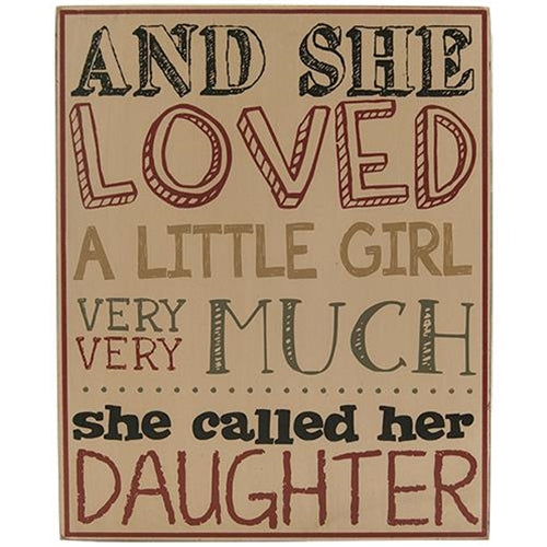 (Daughter Box Sign)