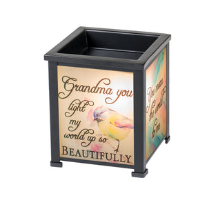 GRANDMA LIGHT MY WORLD WITH JOY LANTERN WARMER