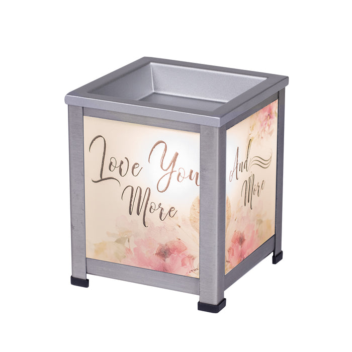 EVERYDAY LOVE YOU MORE LANTERN WARMER