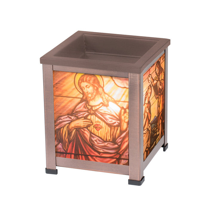 CHRIST SACRED HEART LANTERN WARMER