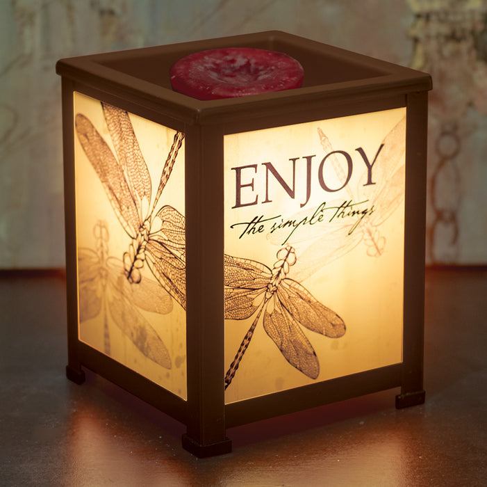 ENJOY THE SIMPLE THINGS LANTERN WARMER