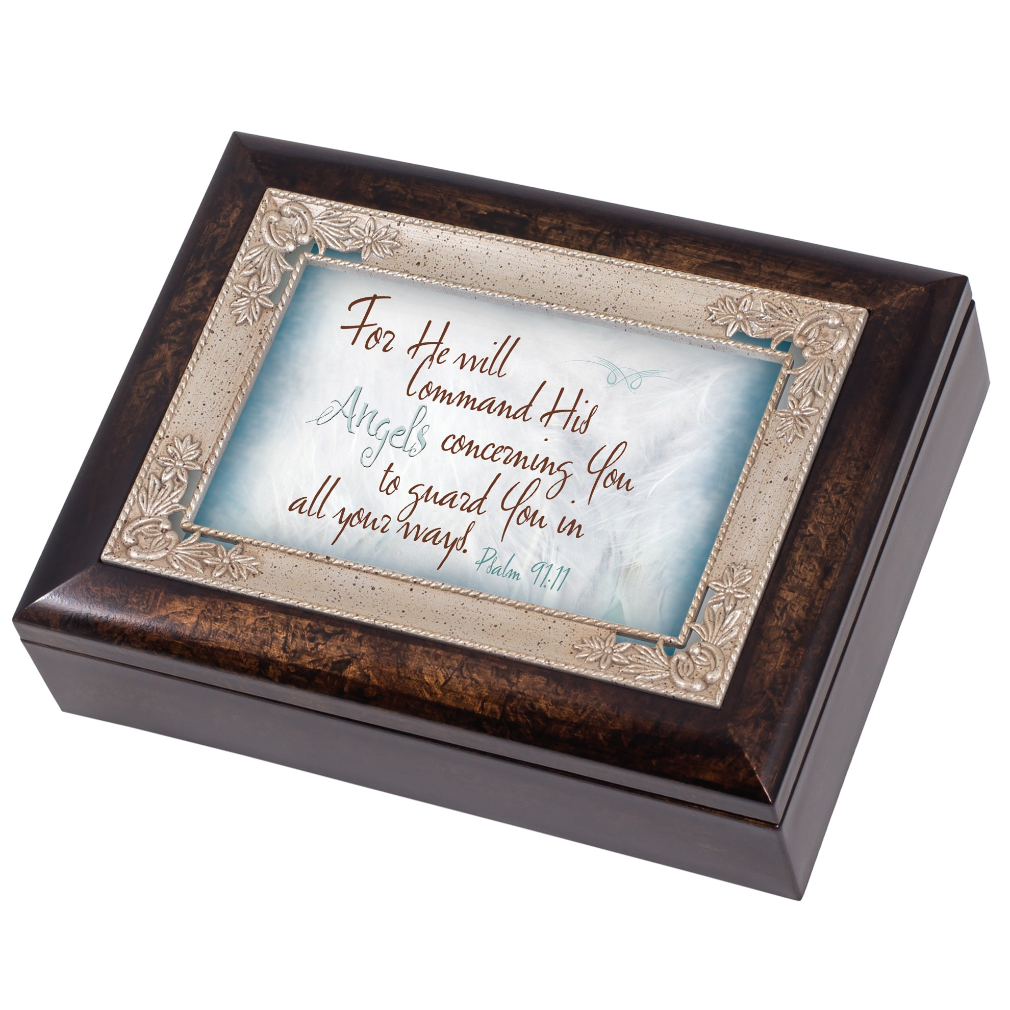 ANGELS GUARD YOU JEWELRY BOX