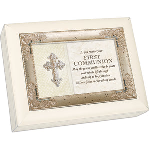FIRST COMMUNION KEEP YOU CLOSE TO JESUS JEWELRY BOX