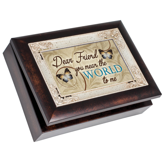 FRIEND YOU MEAN THE WORLD TO ME JEWELRY BOX