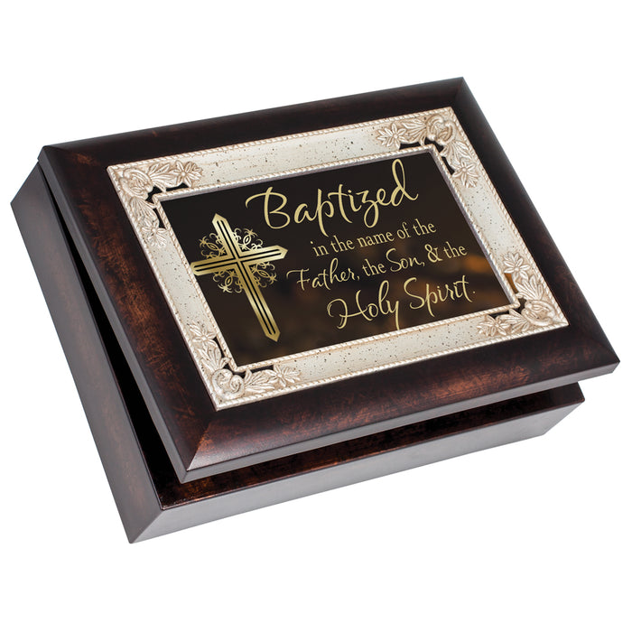BAPTIZED FATHER SON HOLY SPIRIT JEWELRY BOX