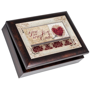 A TRUE LOVE JEWELRY BOX
