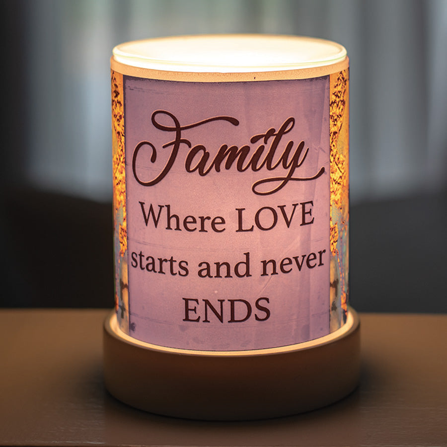 WHERE LOVE STARTS AND NEVER ENDS SCENT WARMER