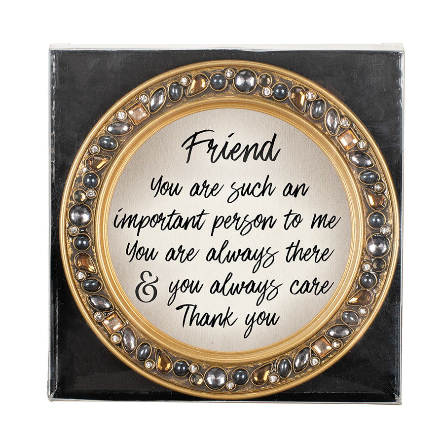 FRIEND YOU ARE SUCH AN IMPORTANT COASTERS