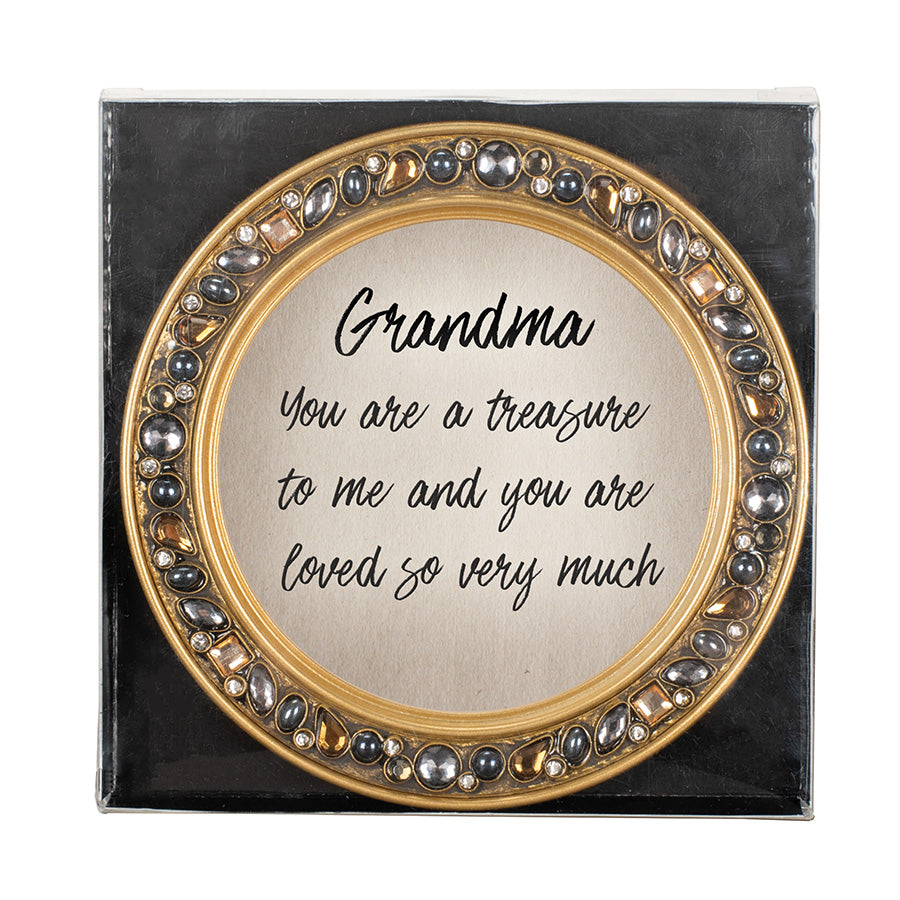 GRANDMA YOU ARE A TREASURE COASTERS