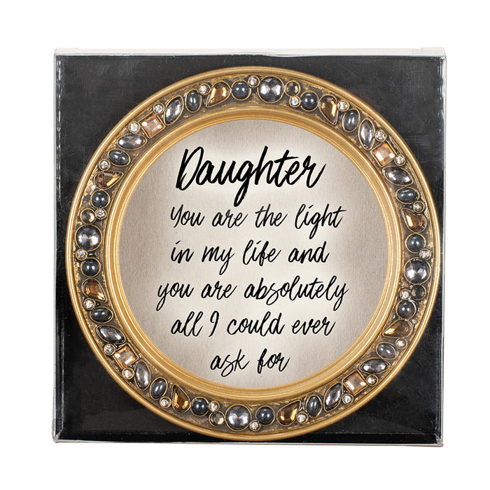 DAUGHTER/ YOU ARE THE LIGHT IN MY LIFE COASTERS