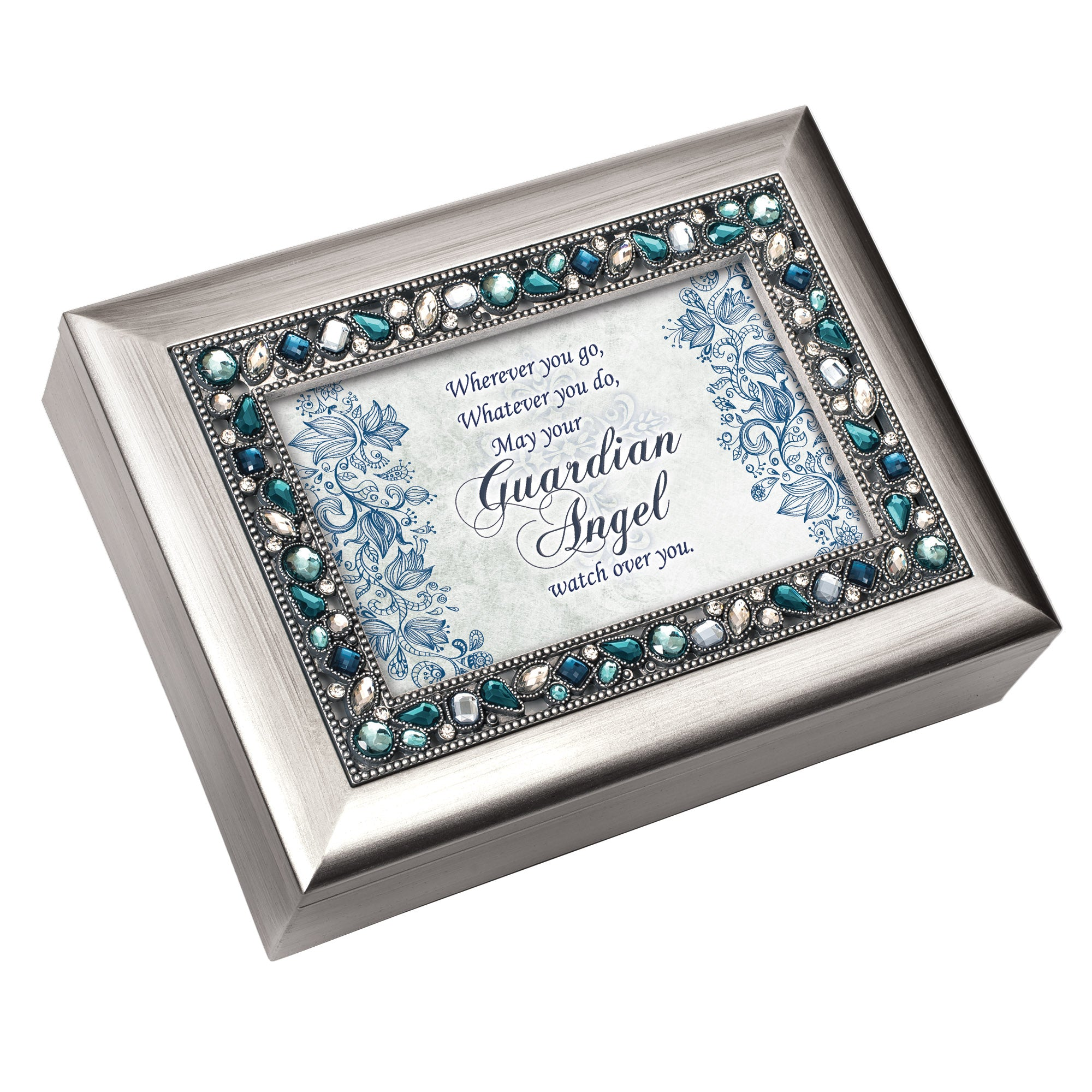 GUARDIAN ANGEL WATCH OVER YOU MUSIC BOX