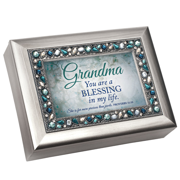 GRANDMA A BLESSING IN MY LIFE MUSIC BOX