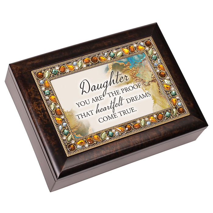 DAUGHTER PROOF THAT HEARTFELT DREAMS MUSIC BOX