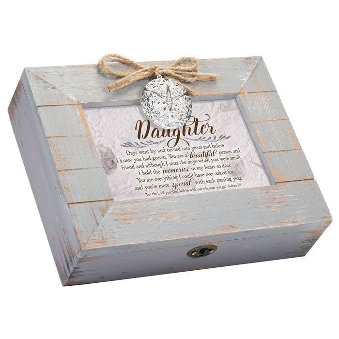 DAUGHTER DAYS TURNED INTO YEARS SCRIPT MUSIC BOX
