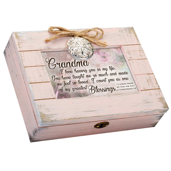 GRANDMA MY GREATEST BLESSING SCRIPT MUSIC BOX