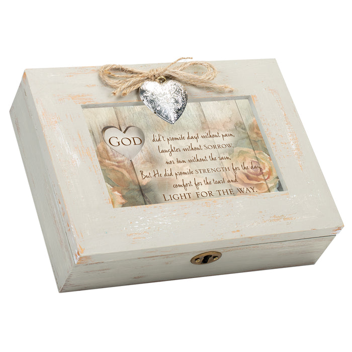 GOD PROMISE STRENGTH FOR THE DAY MUSIC BOX