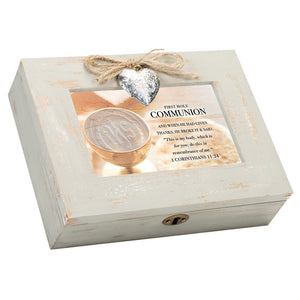 FIRST HOLY COMMUNION MUSIC BOX