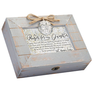 A PRAYER FOR MY DAUGHTER MUSIC BOX