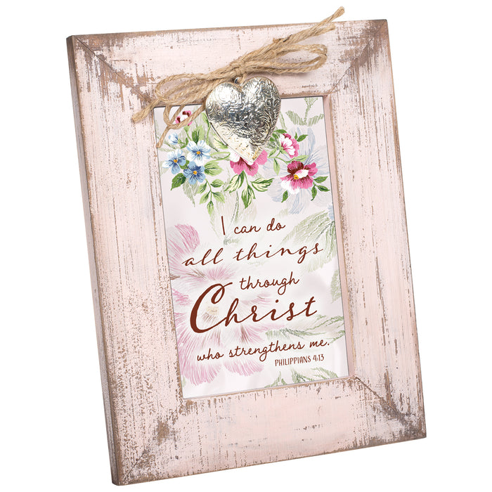 DO ALL THINGS THROUGH CHRIST FRAME