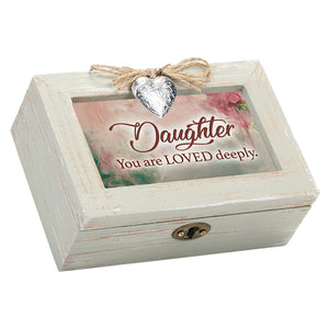 DAUGTHER YOU ARE DEEPLY LOVED MUSIC BOX
