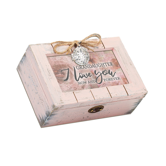 GRANDDAUGHTER I LOVE YOU NOW FOREVER MUSIC BOX