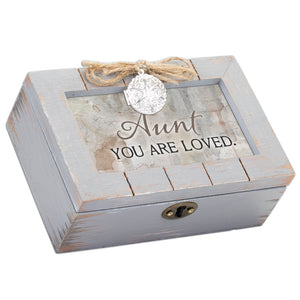 AUNT YOU ARE LOVED MUSIC BOX