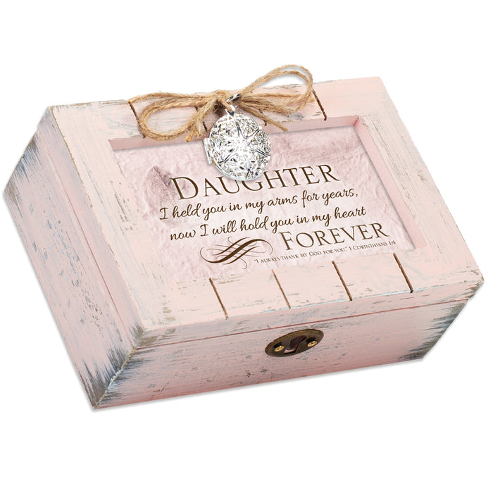 DAUGHTER IN MY HEART FOREVER SCRIPT MUSIC BOX