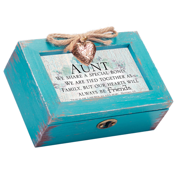 AUNT SPECIAL BOND AS FRIENDS MUSIC BOX