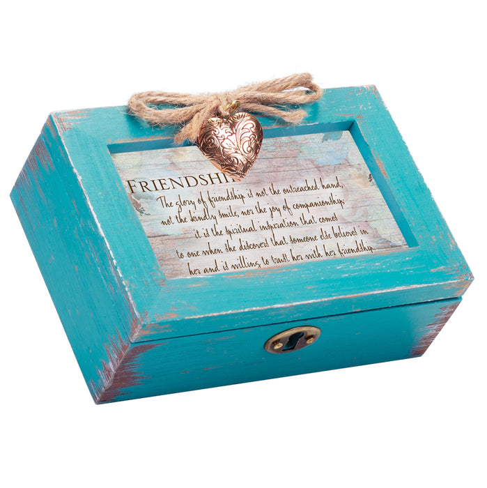 GLORY OF FRIENDSHIP IS TRUST MUSIC BOX