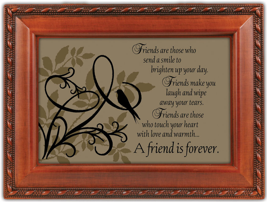A FRIEND IS FOREVER MUSIC BOX