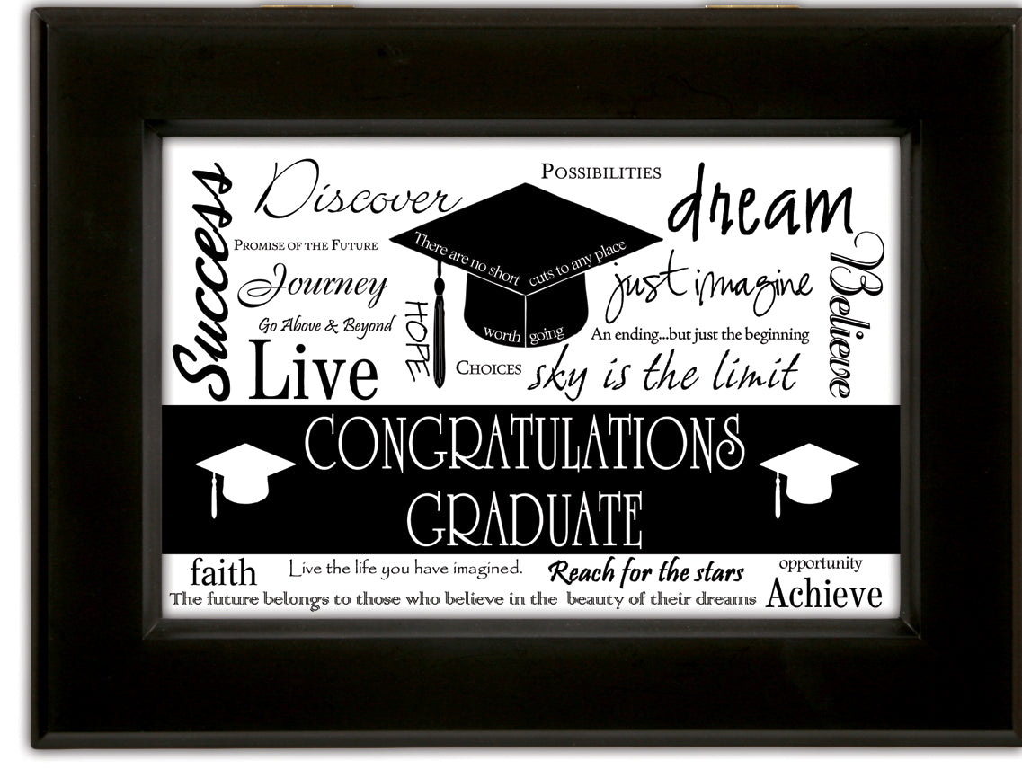 GRADUATE SUCCESS MUSIC BOX