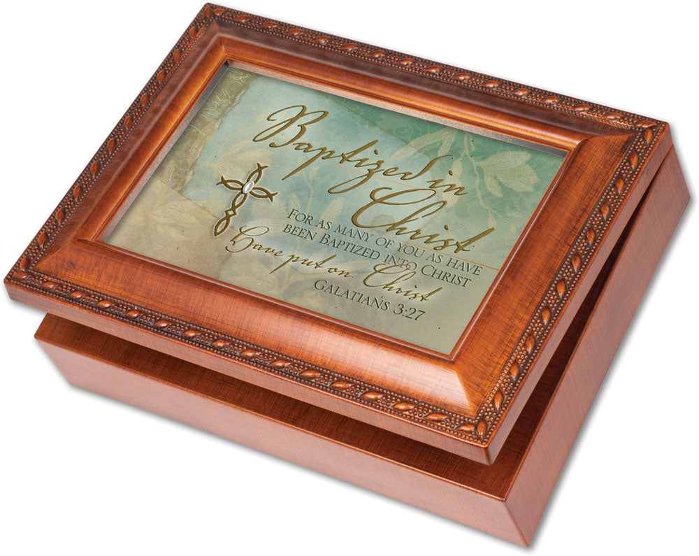BAPTIZED IN CHRIST MUSIC BOX
