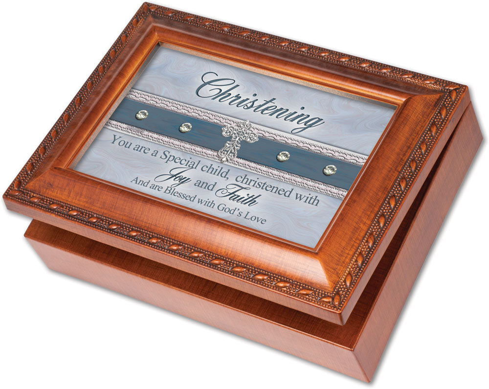 CHRISTENING MUSIC BOX