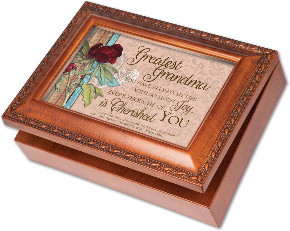 GREATEST GRANDMA SCRIPT MUSIC BOX