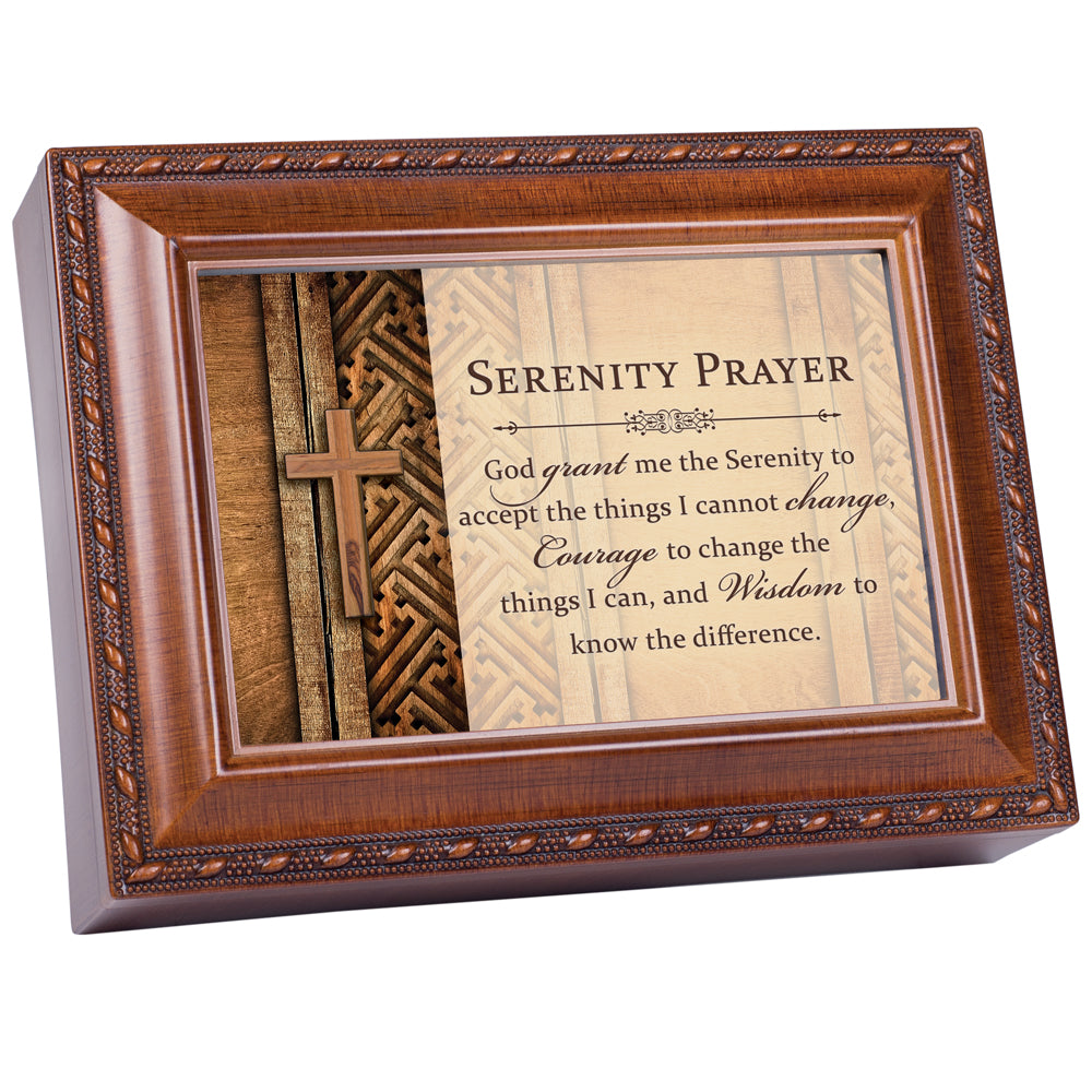 GOD GRANT ME THE SERENITY MUSIC BOX