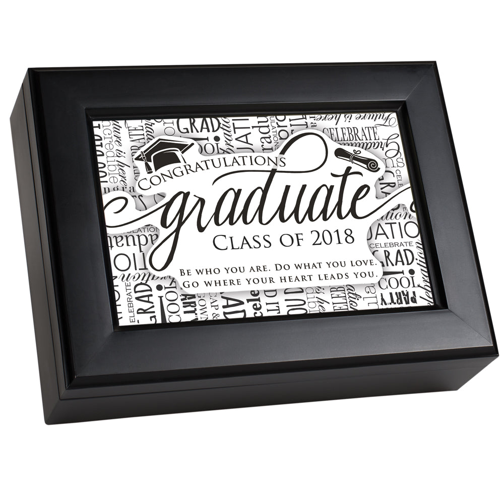 GRADUATE CLASS OF 2018 JEWELRY BOX