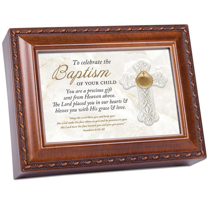 CELEBRATE THE BAPTISM OF YOUR CHILD MUSIC BOX