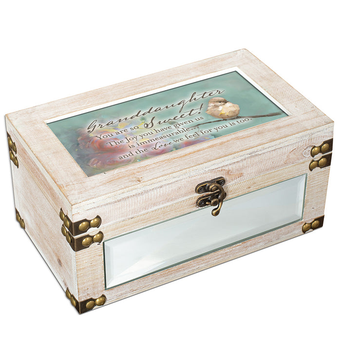 GRANDDAUGHTER YOU ARE SWEET JEWELRY BOX