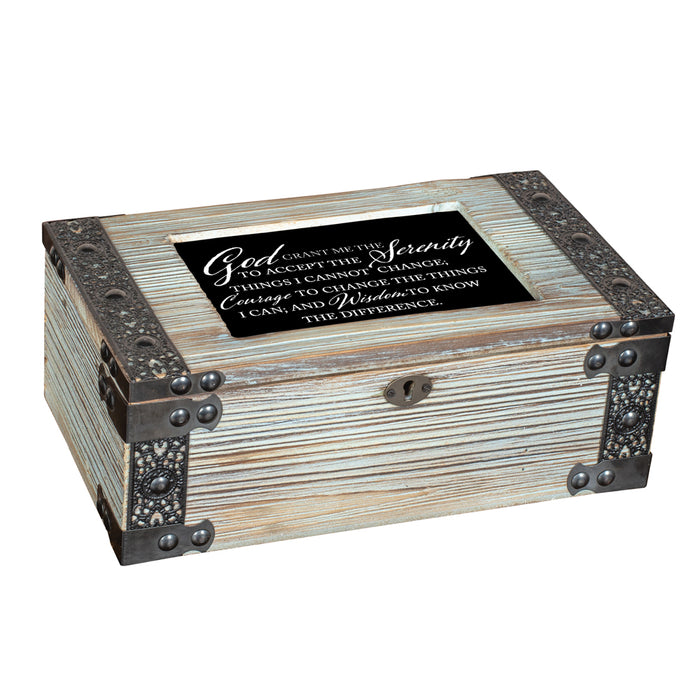 GOD SERENITY COURAGE WISDOM JEWELRY BOX