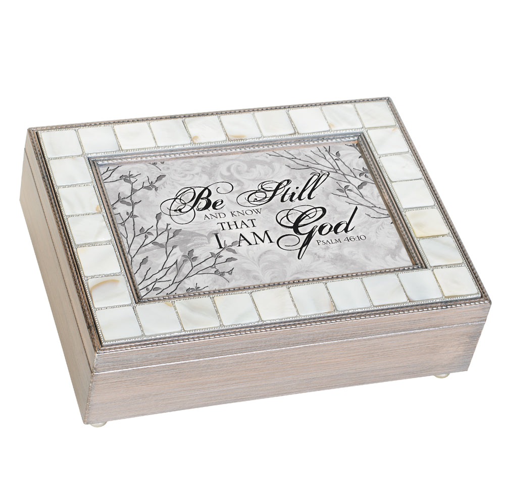 BE STILL KNOW THAT I AM GOD JEWELRY BOX